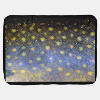 Brook Trout Scales Photography Baby Blanket