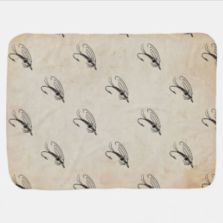 Brook Trout Scales Photography Swaddle Blankets