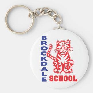 Brookdale School Key Ring