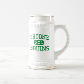 Brooke - Bruins - High - Wellsburg West Virginia Beer Stein