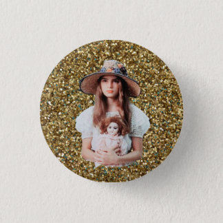 Brooke Shields Nymphet Button