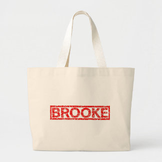 Brooke Stamp Jumbo Tote Bag