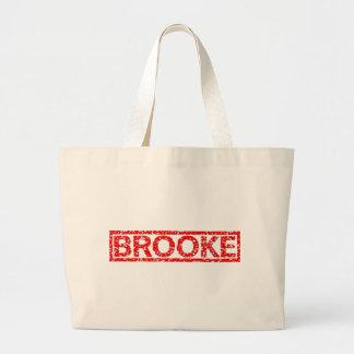 Brooke Stamp Large Tote Bag