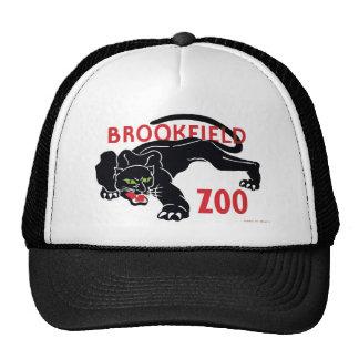 Brookfield Zoo Black Leopard Hat