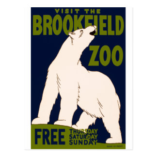 Brookfield Zoo Postcard