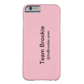 Brookie phonecase barely there iPhone 6 case