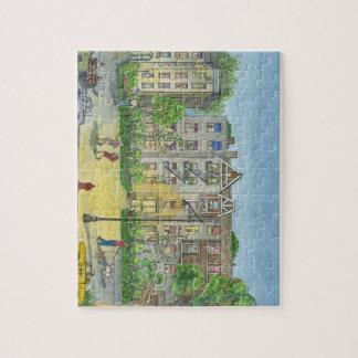 Brooklyn at dusk jigsaw puzzle