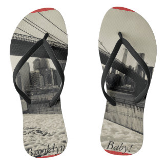Brooklyn Baby! Unisex Sandals NY Edition