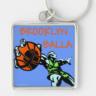 Brooklyn Balla Basketball Gear Key Chain