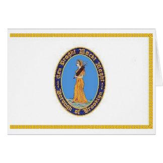 Brooklyn Borough Flag Greeting Cards