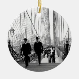 Brooklyn Bridge 1905 Ornament
