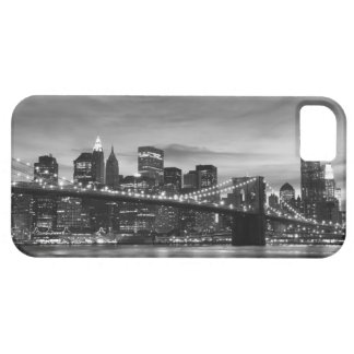 Brooklyn Bridge and Manhattan Skyline At Night Barely There iPhone 5 Case