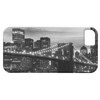 Brooklyn Bridge and Manhattan Skyline At Night iPhone 5 Cases