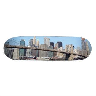 Brooklyn Bridge and Manhattan Skyline, New York Ci Skate Decks