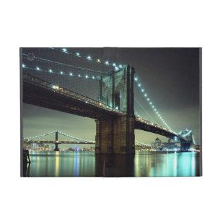 Brooklyn Bridge at night  Manhattan Bridge Covers For iPad Mini
