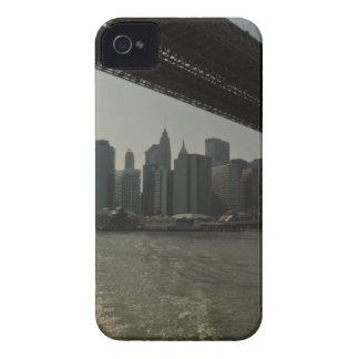 Brooklyn Bridge by boat iPhone 4 Covers