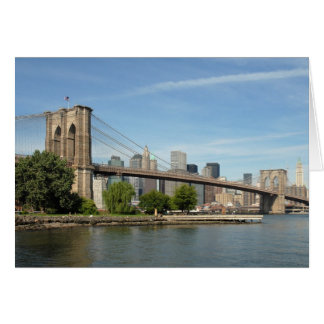 Brooklyn Bridge Card