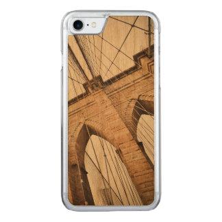 Brooklyn Bridge Carved iPhone 7 Case