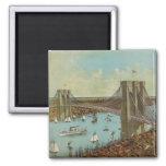 Brooklyn Bridge Colour Postcard
