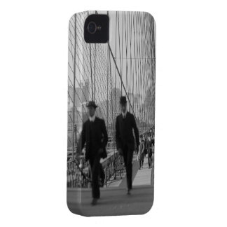 Brooklyn Bridge Crossing iPhone 4 Cover