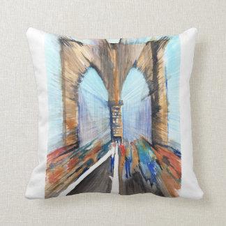 Brooklyn Bridge Cushion
