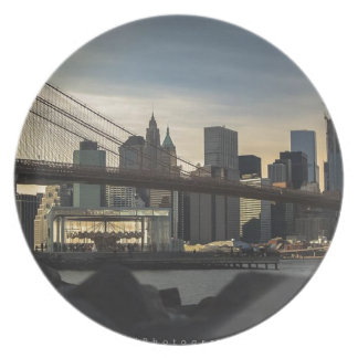 Brooklyn Bridge Dinner Plates