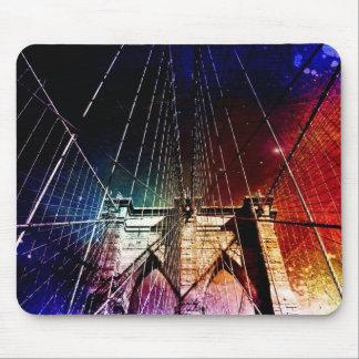 Brooklyn Bridge - Galaxies - NYC Mouse Pad