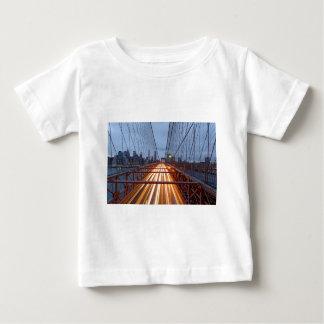 Brooklyn Bridge in the evening Baby T-Shirt
