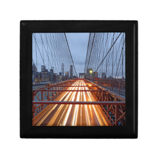 Brooklyn Bridge in the evening Gift Box