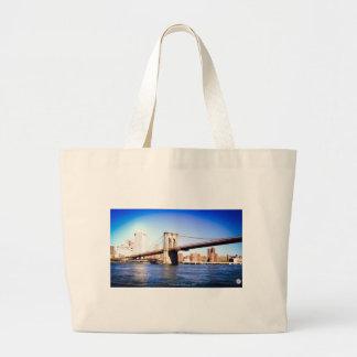 Brooklyn Bridge Large Tote Bag