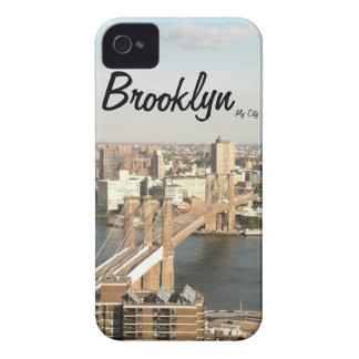 Brooklyn Bridge, MyCity iPhone Case iPhone 4 Cases
