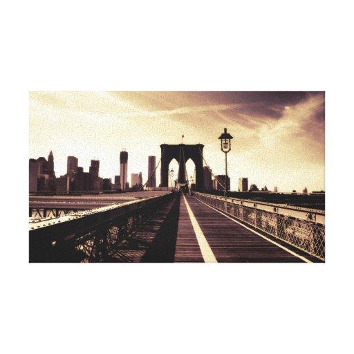 Brooklyn Bridge - New York City Gallery Wrap Canvas