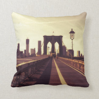 Brooklyn Bridge - New York City Cushion