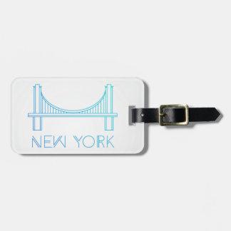 Brooklyn Bridge   New York City Luggage Tag