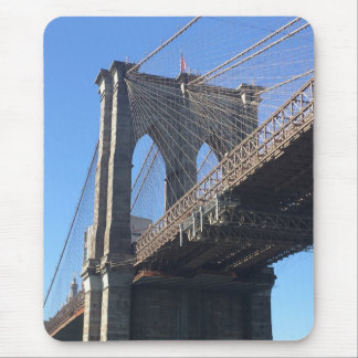 Brooklyn Bridge New York City NYC Landmark Photo Mouse Pad
