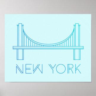 Brooklyn Bridge | New York City Poster