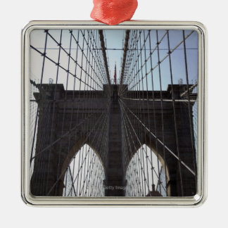 Brooklyn Bridge, New York, NY, USA 2 Metal Ornament