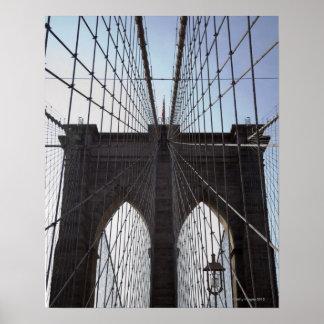 Brooklyn Bridge, New York, NY, USA 2 Poster