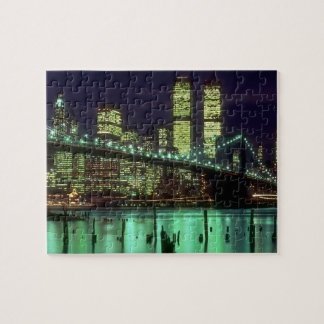 Brooklyn Bridge @ Night Jigsaw Puzzle
