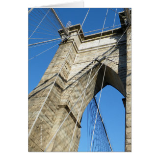 Brooklyn Bridge NY Card