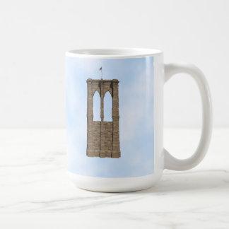 Brooklyn Bridge Pillar: 3D Model: Coffee Mug