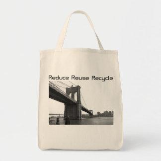 Brooklyn Bridge Recycle Tote Bag
