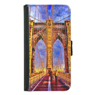 brooklyn-bridge samsung galaxy s5 wallet case
