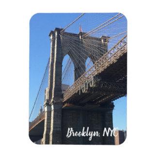 Brooklyn Bridge Sky New York City NYC Photography Magnet