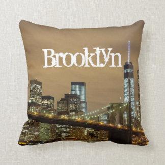 Brooklyn Bridge Skyline Cushion