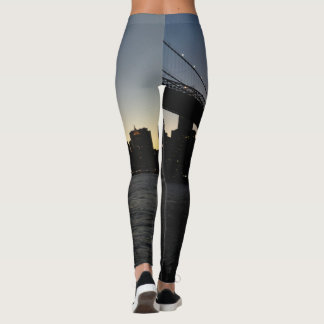 Brooklyn Bridge Sunset Leggings