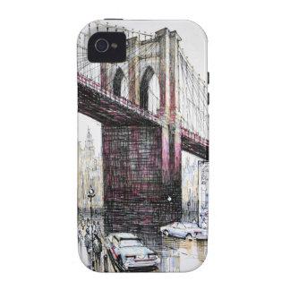 Brooklyn Bridge, USA iPhone 4 Case-Mate Tough iPhone 4/4S Covers