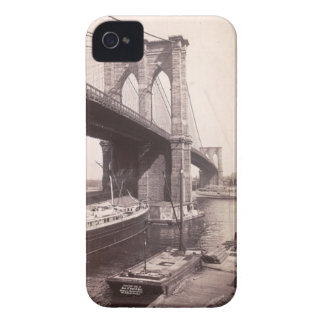 Brooklyn Bridge Vintage Photograph for IPhone 4 iPhone 4 Cases