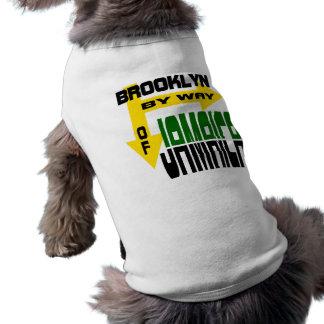 Brooklyn By Way of Jamaica With Arrows Sleeveless Dog Shirt