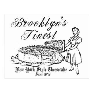 BROOKLYN CHEESECAKE POSTCARD